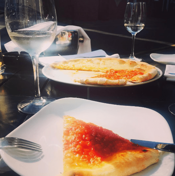 Tabitha pizza Giovannis food italian restaurant knutsford