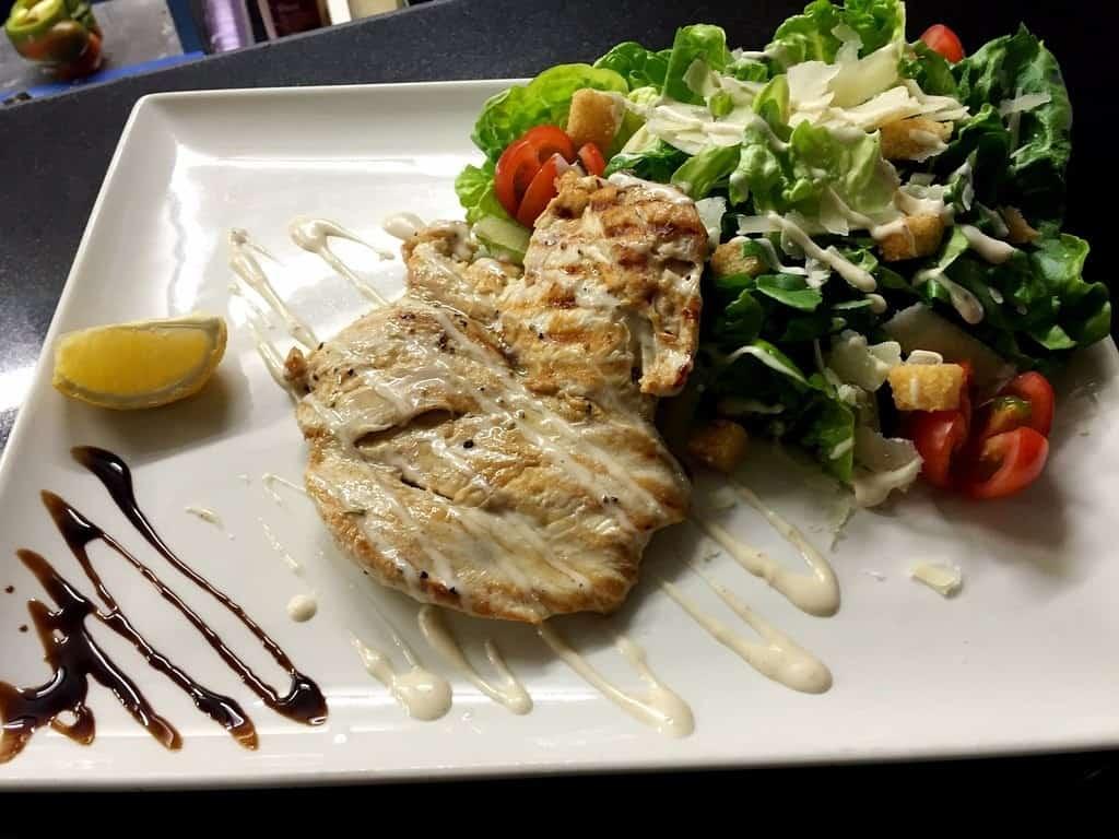 chicken caesar salad Giovannis food italian restaurant knutsford