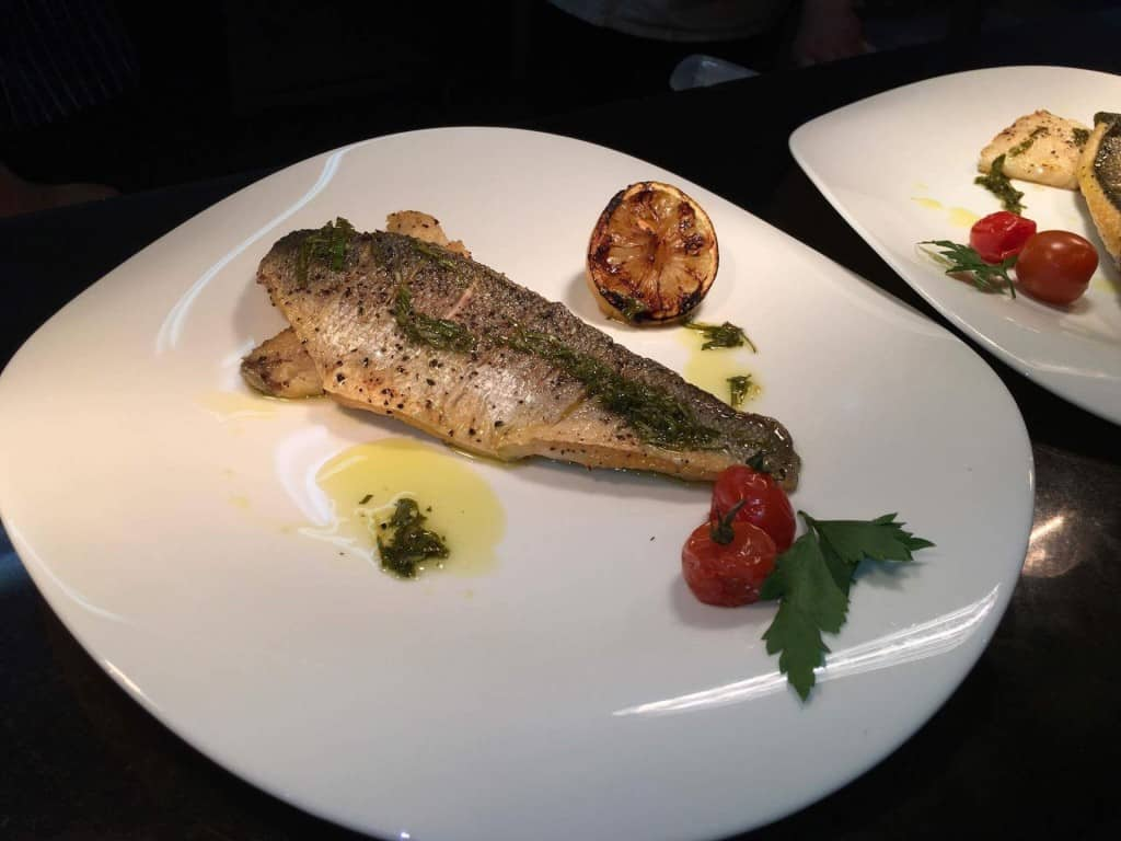 Fish Giovannis food italian restaurant knutsford