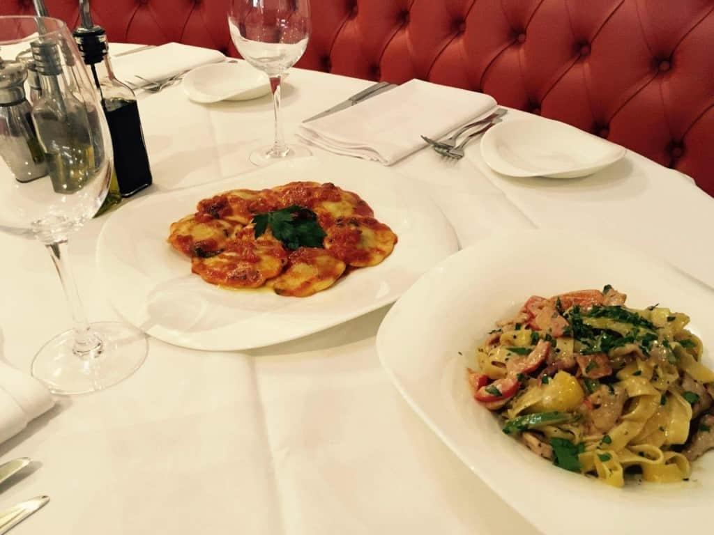 pasta Giovannis food italian restaurant knutsford