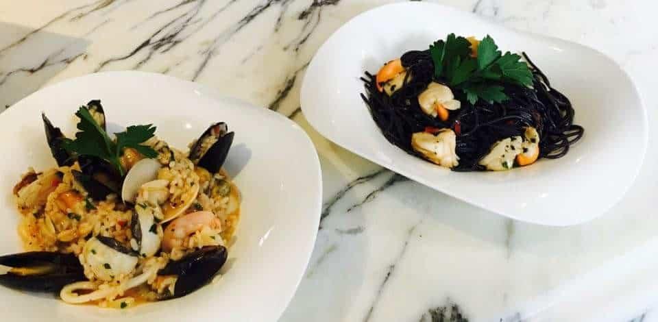 seafood pastas Giovannis food italian restaurant knutsford